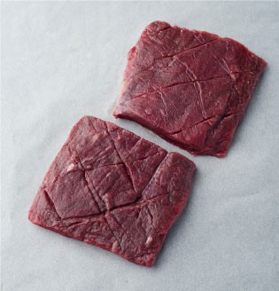 Flat iron steak image